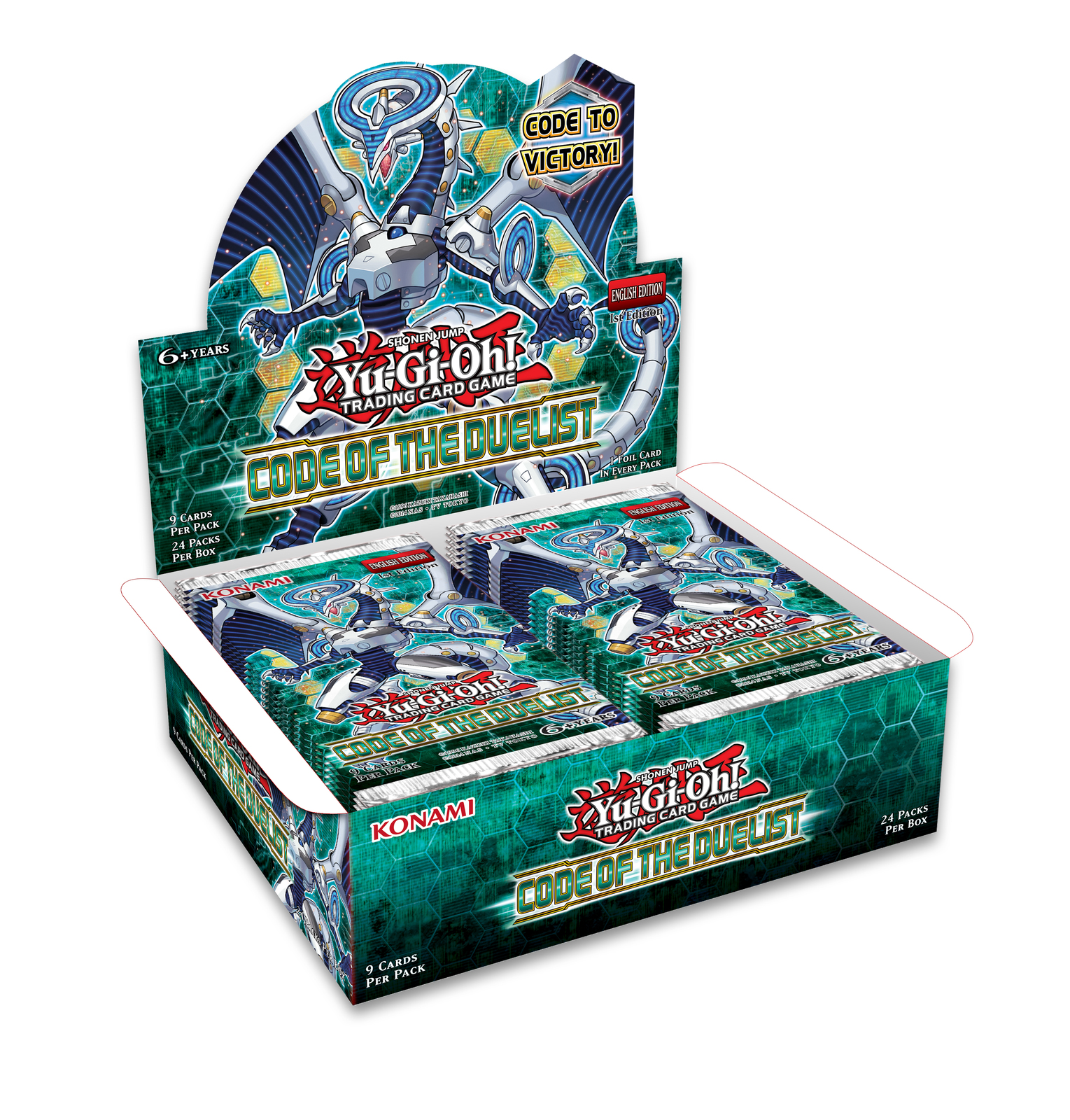 Yu-Gi-Oh! Code Of The Duelist Booster Box image