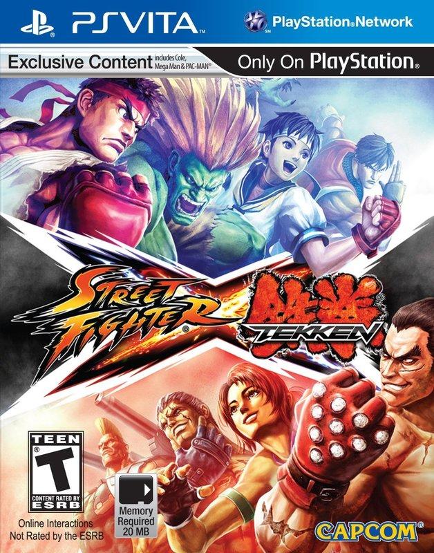 Street Fighter X Tekken for PlayStation Vita