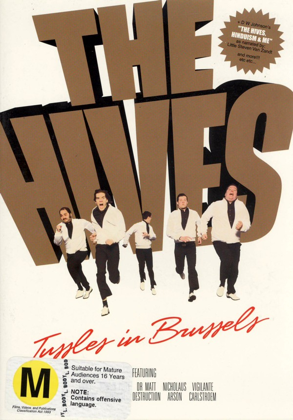Hives - Tussles in Brussels on DVD image