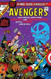 The Thanos Wars: Infinity Origin Omnibus by Jim Starlin