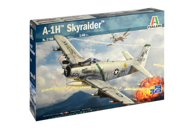 Italeri 1/48 Skyraider A-1H - Model Kit