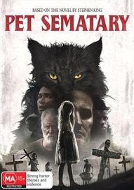 Pet Sematary (2019) on DVD
