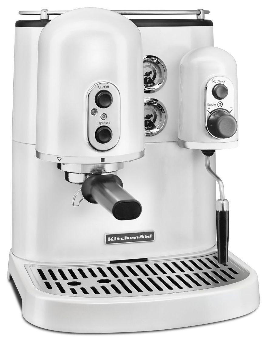 KitchenAid Espresso Coffee Machine - Frosted Pearl image