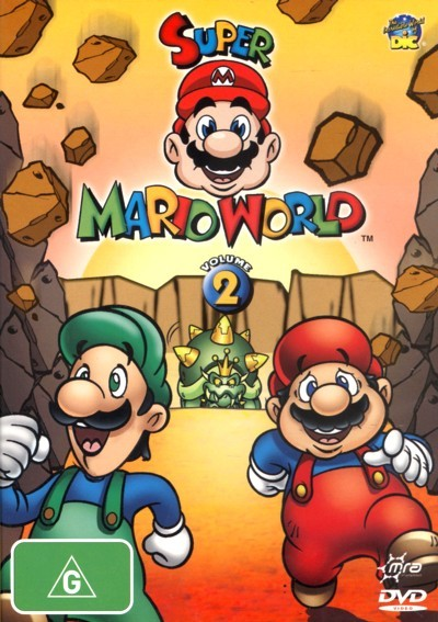Super Mario World: Volume 2 on DVD