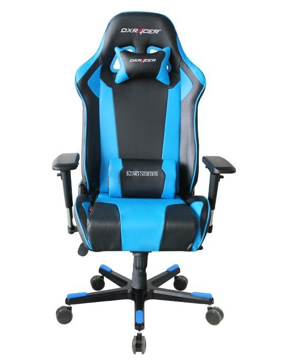 Dx Delivery Times >> DXRacer King Series Gaming Chair (Blue) | PC Game | Buy Now | at Mighty Ape NZ