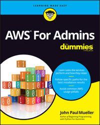AWS For Admins For Dummies by John Paul Mueller