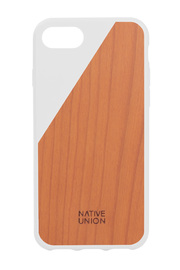 Native Union Clic Wooden Case for iPhone 7 (White)