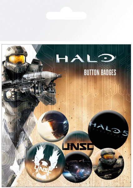 Halo 5: Classic - Pin Badge Set | at Mighty Ape NZ