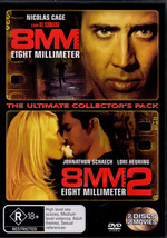 8MM (Eight Millimeter) / 8MM (Eight Millimeter) 2 - The Ultimate Movie Collector's Pack (2 Disc Set) on DVD