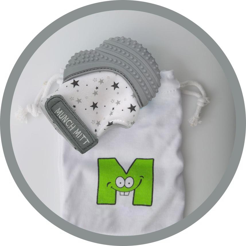 Munch Mitt - Grey Stars image