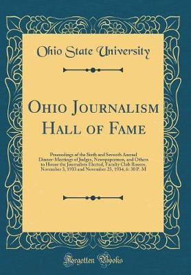 Ohio Journalism Hall of Fame by Ohio State University