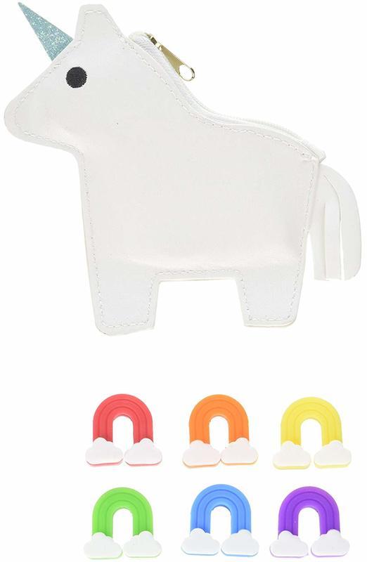 TrueZoo: Rainbow Glass Tags & Unicorn Pouch