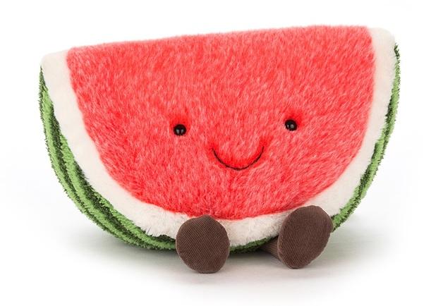 Jellycat: Amuseable Watermelon - Medium Plush