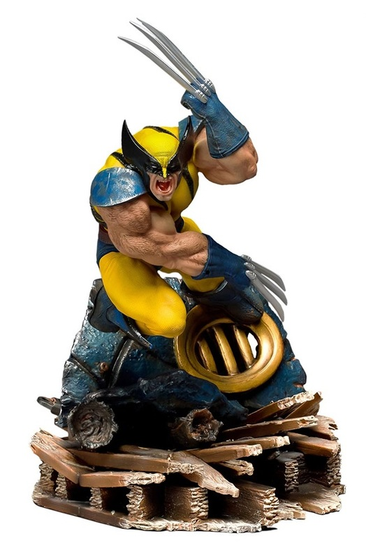 X-Men - 1/10 Wolverine - Battle Diorama Statue