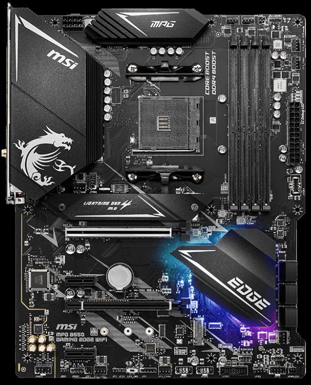 MSI MPG B550 Gaming Edge Wi-Fi ATX Motherboard
