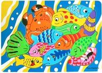 Fun Factory: Magnetic Fishing Game Board