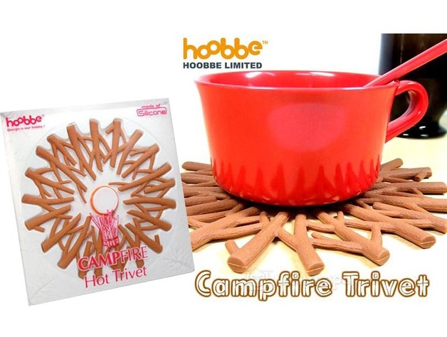 Camp Fire Trivet - by Hoobbe