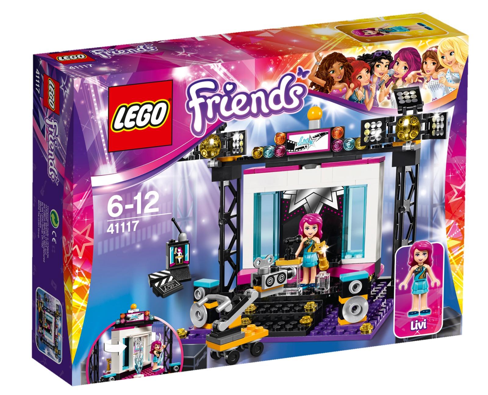 LEGO Friends - Pop Star TV Studio (41117)