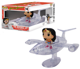 DC Comics: Wonder Woman & Invisible Jet Pop! Vinyl Figure