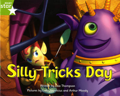 Fantastic Forest Green Level Fiction: Silly Tricks Day by Lisa Thompson image