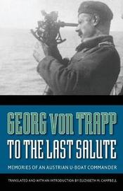 To the Last Salute by Georg von Trapp image