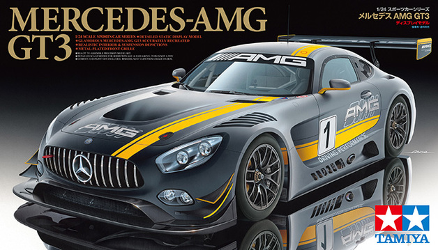 Tamiya 1/24 Mercedes AMG GT3 Kit