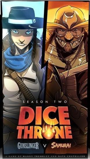 Dice Throne: Season Two - Gunslinger VS Samurai