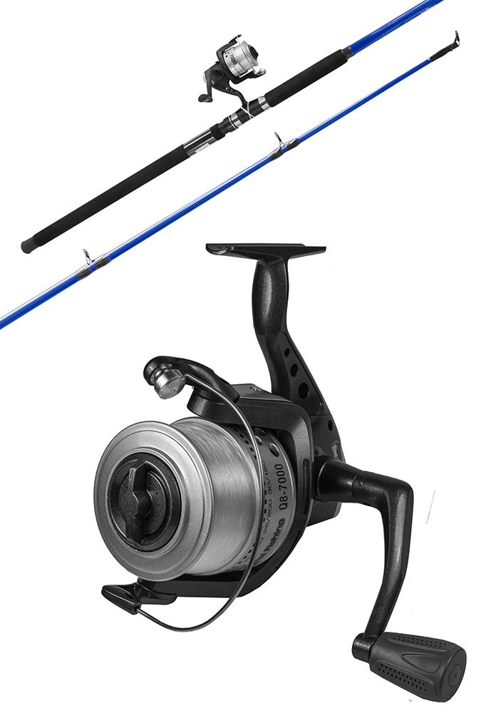 Fishtech Surf Fishing Rod & Reel Combo Set (12ft) 2pce image