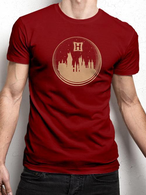 Harry Potter: Snowglobe Tee - Ex Large