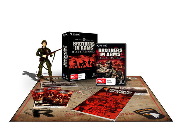 Brothers in Arms: Hell's Highway Limited Edition screenshot