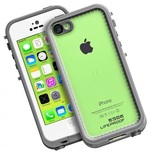 Lifeproof frē Case for iPhone 5C (White/Clear)