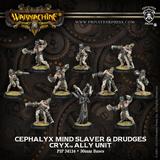 Warmachine: Cephalyx Mind Slaver & Drudges Ally Unit