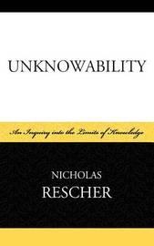 Unknowability by Nicholas Rescher image