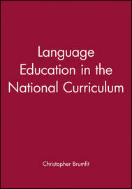Language Education in the National Curriculum image