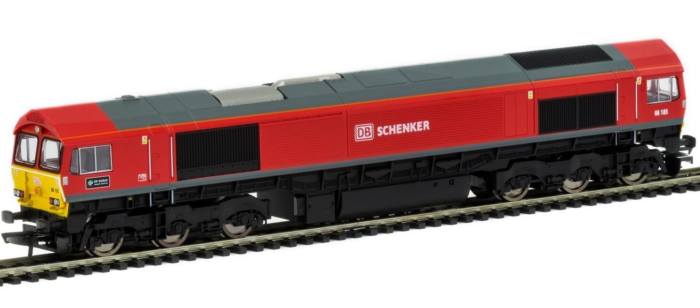 Hornby: Co-Co Diesel 'DP World London Gateway' '66185' Class 66 image