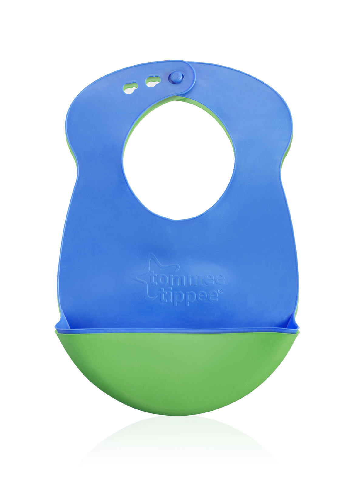 Closer to Nature Roll n Go Bib (Blue/Green) - 2 Pack image