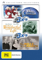White Christmas / It's A Wonderful Life / Bells Of St. Mary's - 3x's: Collectors Selections (3 Disc Set) on DVD