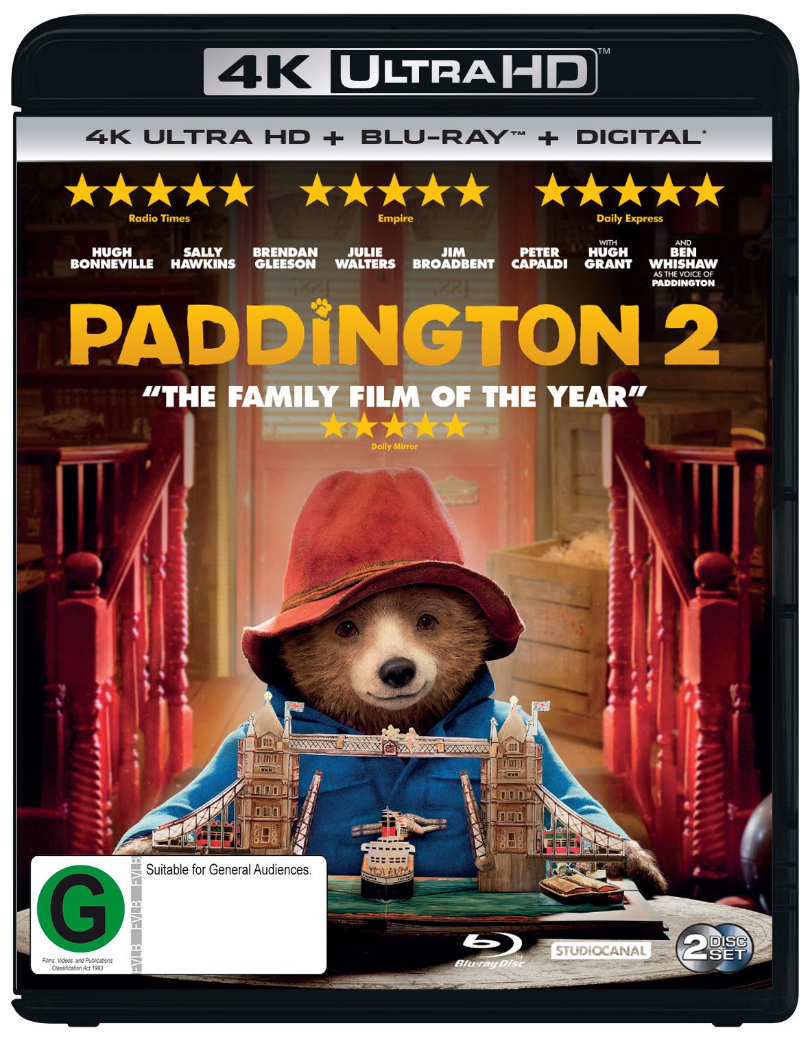 Paddington 2 on UHD Blu-ray image