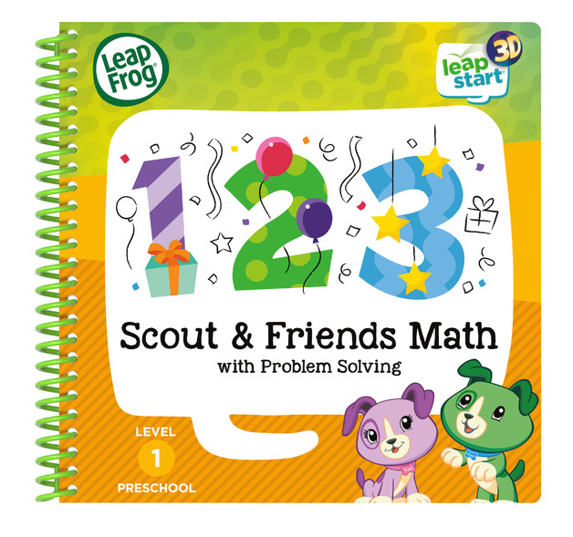 Leapstart 3D: Scout & Friends Math - With Problem Solving (Level 1)
