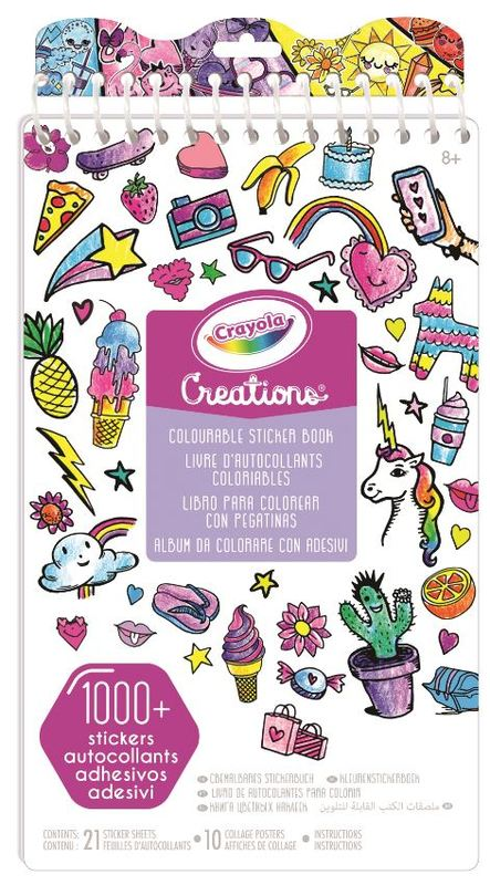 Crayola Creations: Colour Your Own - Sticker Book