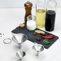 Ape Basics: Stainless Steel 3 Piece Funnel Set image