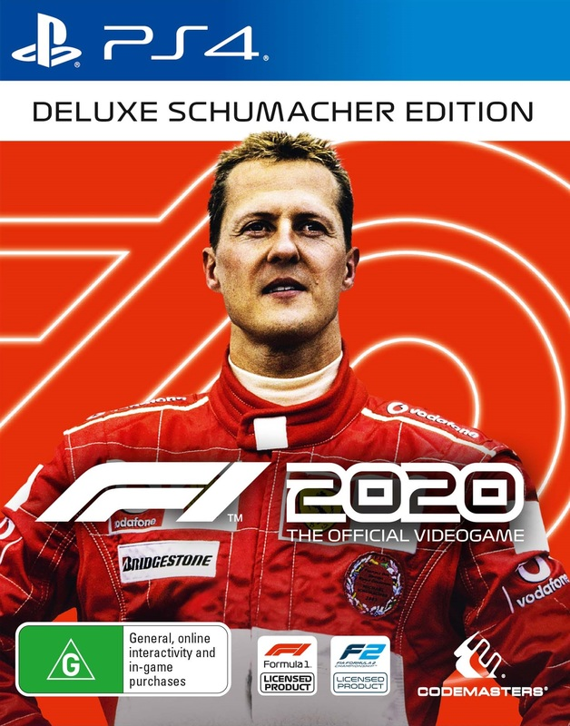 F1 2020 Deluxe Schumacher Edition for PS4