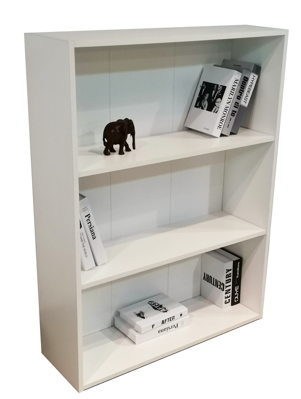 Bookcase 1200mm in White
