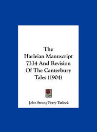 The Harleian Manuscript 7334 and Revision of the Canterbury Tales (1904) by John Strong Perry Tatlock image