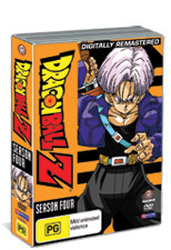 Dragon Ball Z - Season 4 on DVD
