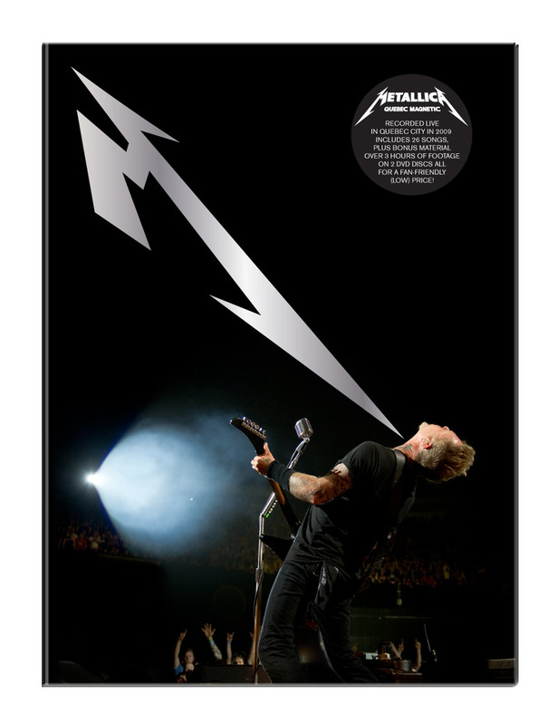 Metallica - Quebec Magnetic on