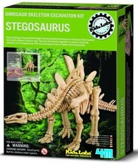 4M: Excavation Kits - Stegosaurus Skeleton