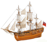 Artesania Latina HMS Endeavour 1:60 Wooden Model Kit