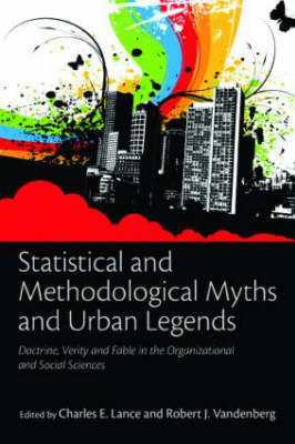 Statistical and Methodological Myths and Urban Legends image
