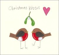 Papaya: Christmas Cards - Christmas Kisses (8pk)